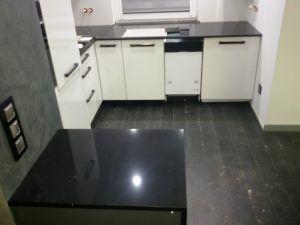 blaty kuchenne Brilliant Black